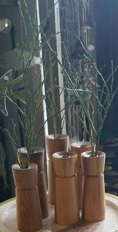 Gedrechselte Vasen von Alexander Bellendir
