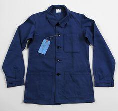 "1983 French ""Bleus de Travail"" Work Jacket, Deadstock"
