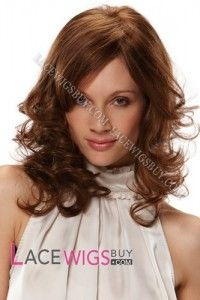 "16"" Curly #30 Full Lace Wigs 100% Indian Remy Human Hair [Sf120039]"