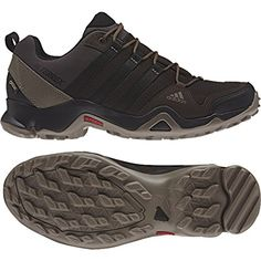 finest selection 47e50 d6578 adidas outdoor Mens Terrex AX2R GTX Shoe (8 - Night Brown Black Brown)