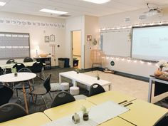 Calm Classroom, Classroom Layout, Middle School Classroom, First Grade Classroom, Classroom Design, Kindergarten Classroom, Future Classroom, Classroom Themes, Classroom Organization