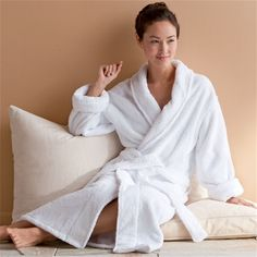 organic cotton bath robe