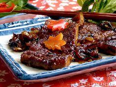 vegetarisches Schweinefleisch - vegan grilled meat