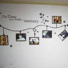 Images of Black Beautiful Time Memory Photo Frame Wall Stickers Wall Decor Wall Decor Stickers, Wall Decals, Memory Wall, Photo Memories, Diy Wall Art, Frames On Wall, Wall Design, Decoration, Photos