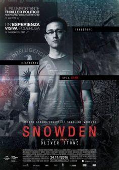 Snowden di Oliver Stone drammatico, thriller, biografico, Usa/Germania (2016)
