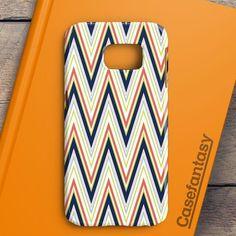 Colorful Chevron Pattern Samsung Galaxy S6 Edge Case | casefantasy