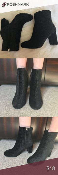 Velvet boots Velvet boots  Size 7  Make me an offer. No lowball offers please☺️ Shoes Heeled Boots