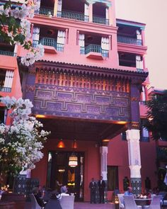 La Mamounia Hotel, Marrakech, Morocco  @lamamouniamarrakech…