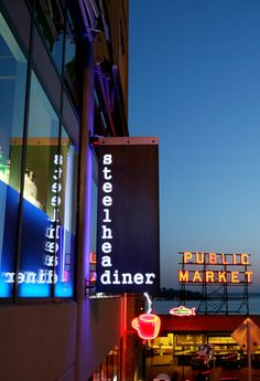 Among the many other delicious places in Seattle. The Steelhead Diner, next to Pike Place Market. Yum!