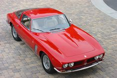 1969 ISO Grifo Maintenance/restoration of old/vintage vehicles: the material for new cogs/casters/gears/pads could be cast polyamide which I (Cast polyamide) can produce. My contact: tatjana.alic@windowslive.com