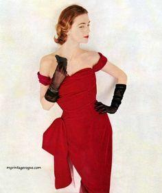 1951 Dress by Emily Wilkens