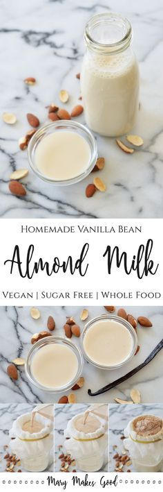 Making your own fresh almond milk is easier than you might think and TOTALLY worth the effort. All you need is a blender and a mesh bag.