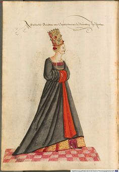 Patrician bride of Nuremberg going to church