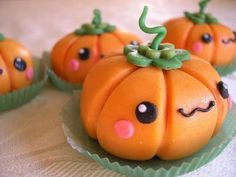 The most adorable little pumpkins!