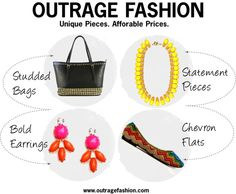 Outrage Fashion Giveaway 4/3/13 to 4/9/13 on @shannasaidso blog!!