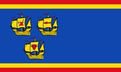 Kreis Nordfriesland (Schleswig-Holstein) - Flagge