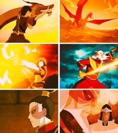 Legend of Korra/ Avatar the Last Airbender: zuko now and then