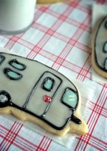 Airstream Camper Cookies: Dairy-Free, Egg-Free, Nut-Free #Vegan | speedbumpkitchen.com
