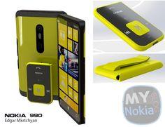 Nokia Lumia 990 concept phone