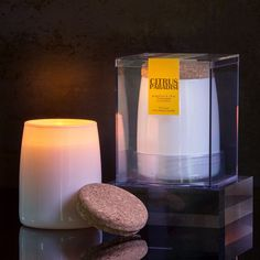 Citrus Paradisi Scented Long Lasting Soy Candle by Aesthetic Content