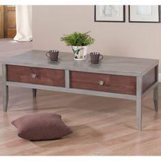 Motley 2 Drawer Coffee Table