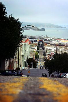 A view from Nob Hill, San Francisco
