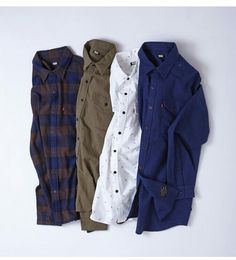 Classic shirts and Levis this autumn /winter