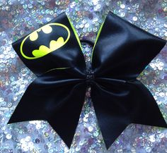 Texas cheer bow.  Batman! by SarahsCheerBows on Etsy https://www.etsy.com/listing/251607716/texas-cheer-bow-batman