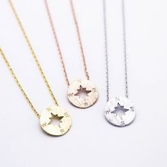 Yellow Gold   Silver  Rose Gold Plated - Pendant measures about 0.5