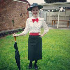 Mary Poppins- Halloween Costume Idea