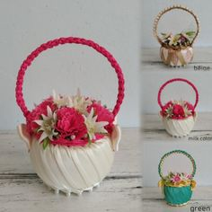 Basket with flowers/gifts souvenirs beloved/basket artificial flowers/home decoration/giftbox/holiday anniversary birthday/handmade product Flower Basket, Celebrity Weddings, Artificial Flowers, Kids Toys, Planter Pots, Anniversary, Decoration, Birthday, Handmade Gifts