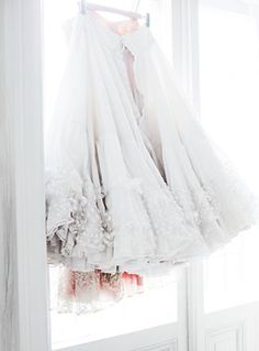 via trendey, photo by Pia Ulin ~ so very pretty Fru Fru, Tulle Tutu, Tulle Skirts, Thing 1, Shades Of White, All White, Pure White, White Light, Snow White