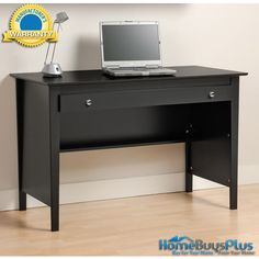 Black Contemporary Computer Desk.  $184.28