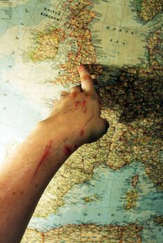 """""""This,"""" She pointed to the map. I saw her arms, badly scrapped and bloody, but she never once complained about them. """"Is where we need to go next."""""""