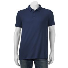 Men's Apt. 9 Solid Modern-Fit Polo, Size: