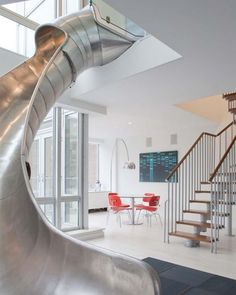 seriously. slide in the house. totally going to be in my dream house.