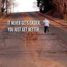 Never Gets Easier