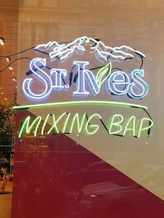 St. Ives First-Ever Mixing Bar in NYC, open until September 2017!