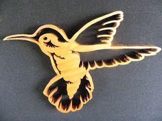 Hummingbird Bird Wall Art Wood Bird Wooden by OutOfTheWoodsUSA