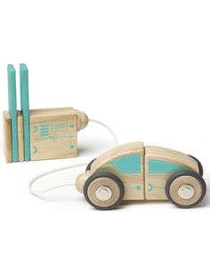 Tegu Circuit Racer Magnetic Wooden Block Set >>> Continue to the product at the image link. Wooden Blocks, Imaginative Play, Boutique, Pretend Play, Gifts For Boys, Fun Games, Baby Toys, Wooden Toys, Baby Gifts
