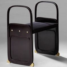 Koloman Moser Pair of stools 1902