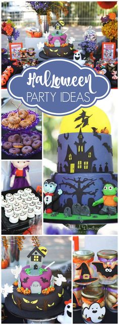 What a magical Children's Day party with a Halloween picnic! See more party ideas at CatchMyParty.com!