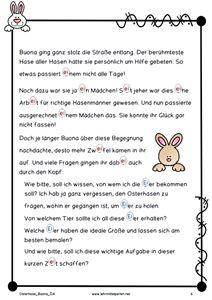 Die Geschichte eines Osterhasenmädchens