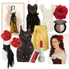 """""""Phantom of the Opera-Christine's """"Don Juan"""" Costume-Inspired"""" by andiscribbles on Polyvore"""