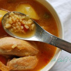 Grandpa's Asopao - Puerto Rican soup from my family to yours.