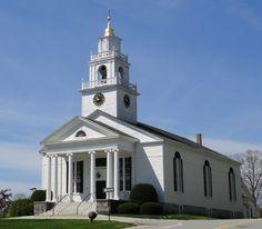 First Presbyterian Church, Bedford, NH.