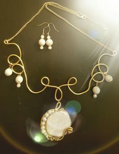 DIY jewelery set white gold #2