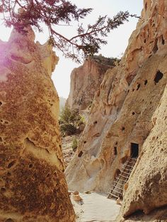 For the Makers / Bryce Collection Inspiration / Bandelier National Monument, NM Oh The Places You'll Go, Great Places, Places To Travel, Beautiful Places, Places To Visit, Fallout New Vegas, Travel New Mexico, Mexico Vacation, Land Of Enchantment