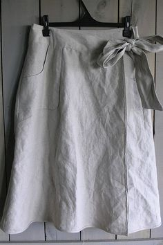 Sew Mama Sew Skirt linen