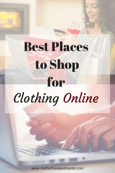 A list of 7 of the best places to shop for clothes online. From Australian shops to the U.S. there are tons of trendy boutiques online.